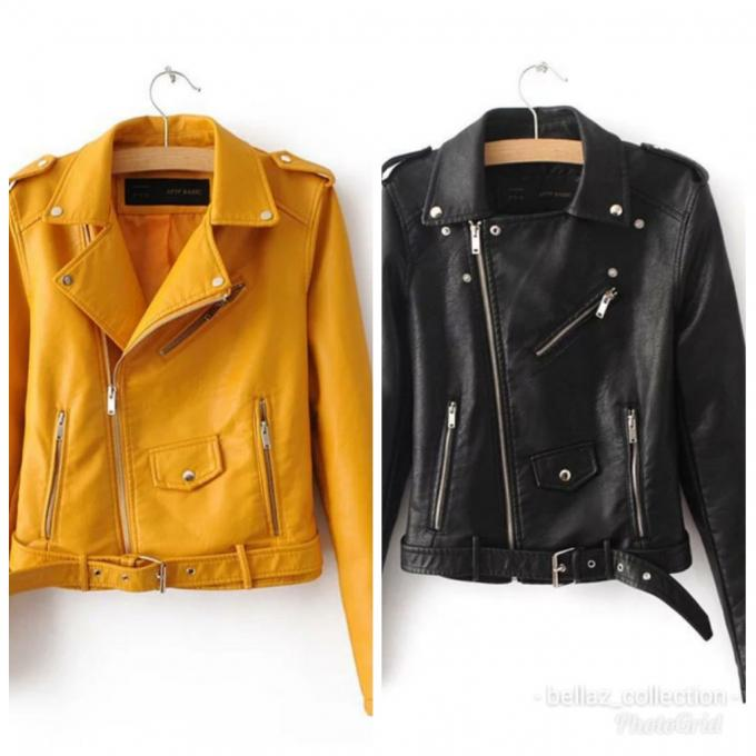 Leather jacket - Leather jacket