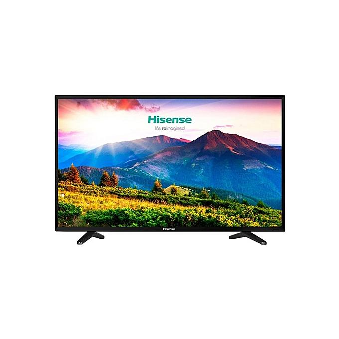 Hisense 32 Inch LED HD TV, 2HDMI,1USB DIVX,VGA-RGB - HD (1366 x 768) Native Resolut...