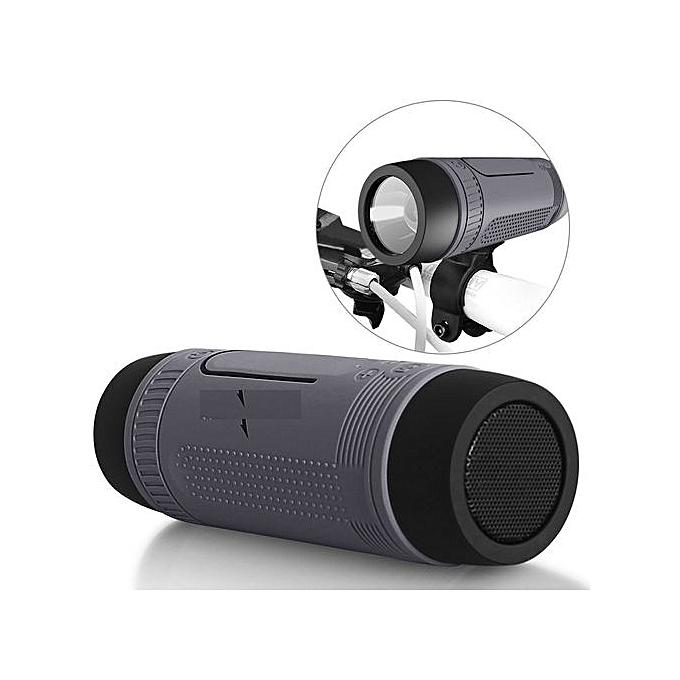 Zealot S1 FLASHLIGHT BLUETOOTH SPEAKER GREY :- Flashlight, Powerbank, Micro-S...