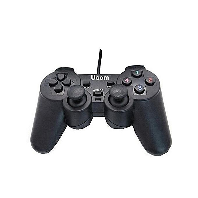 UCOM Universal Single PC Controllers Game Pads - USB For PC & Laptops - Windows - High Quality, Durable, Maximum...