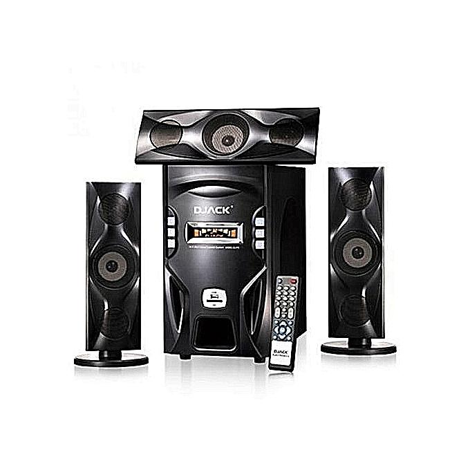 DJACK DJ-F3L POWERFUL BLUETOOTH HOME THEATRE SYSTEM - Bluetooth Function, Three Smal...