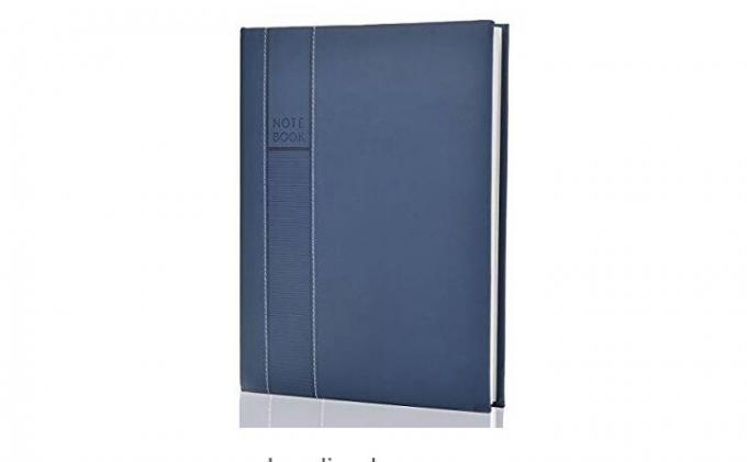 Medium size 10 in 1 hard cover notebook (with no delivery fee). - Hard cover notebook