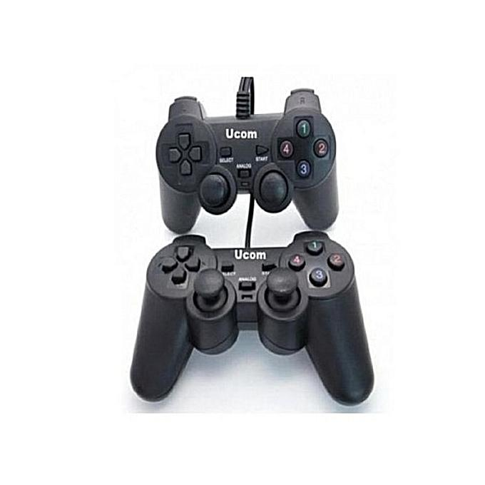 UCOM Universal Double Game Pads - USB For PC & Laptops - Windows - High Quality, Durable, Maximum...