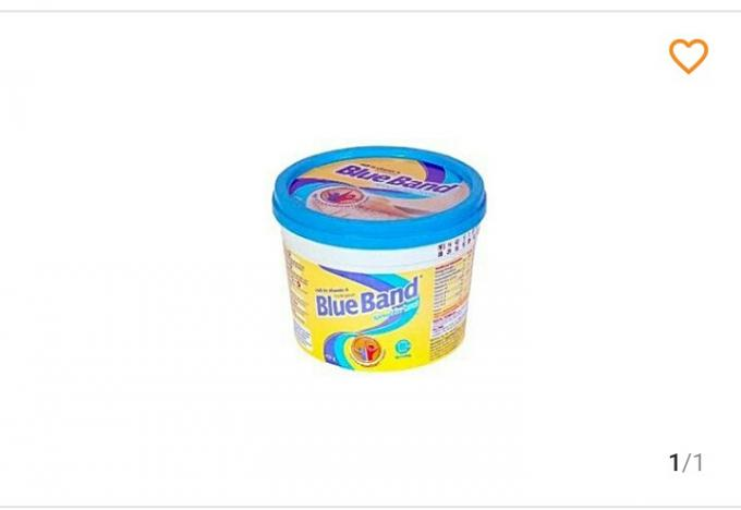 Blue band butter- 450g(no delivery fee). - Blue band butter