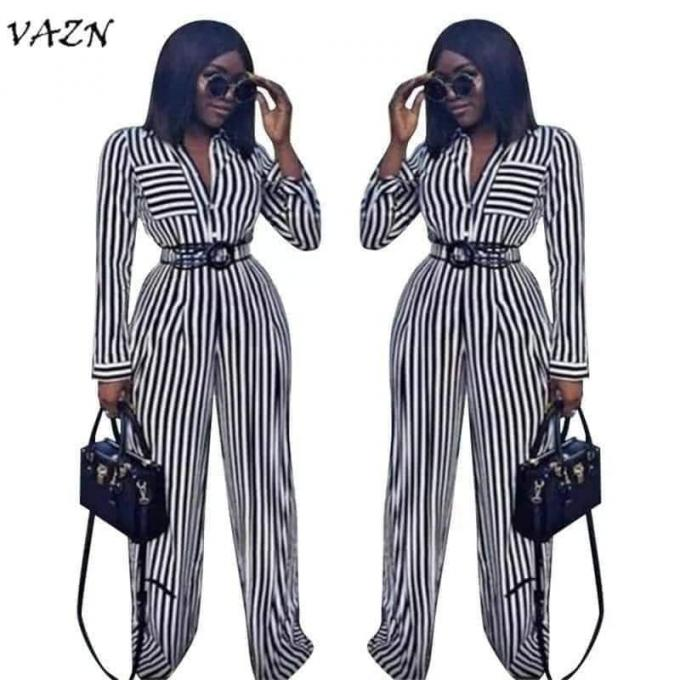 Monochrome jumpsuit - Monochrome jumpsuit