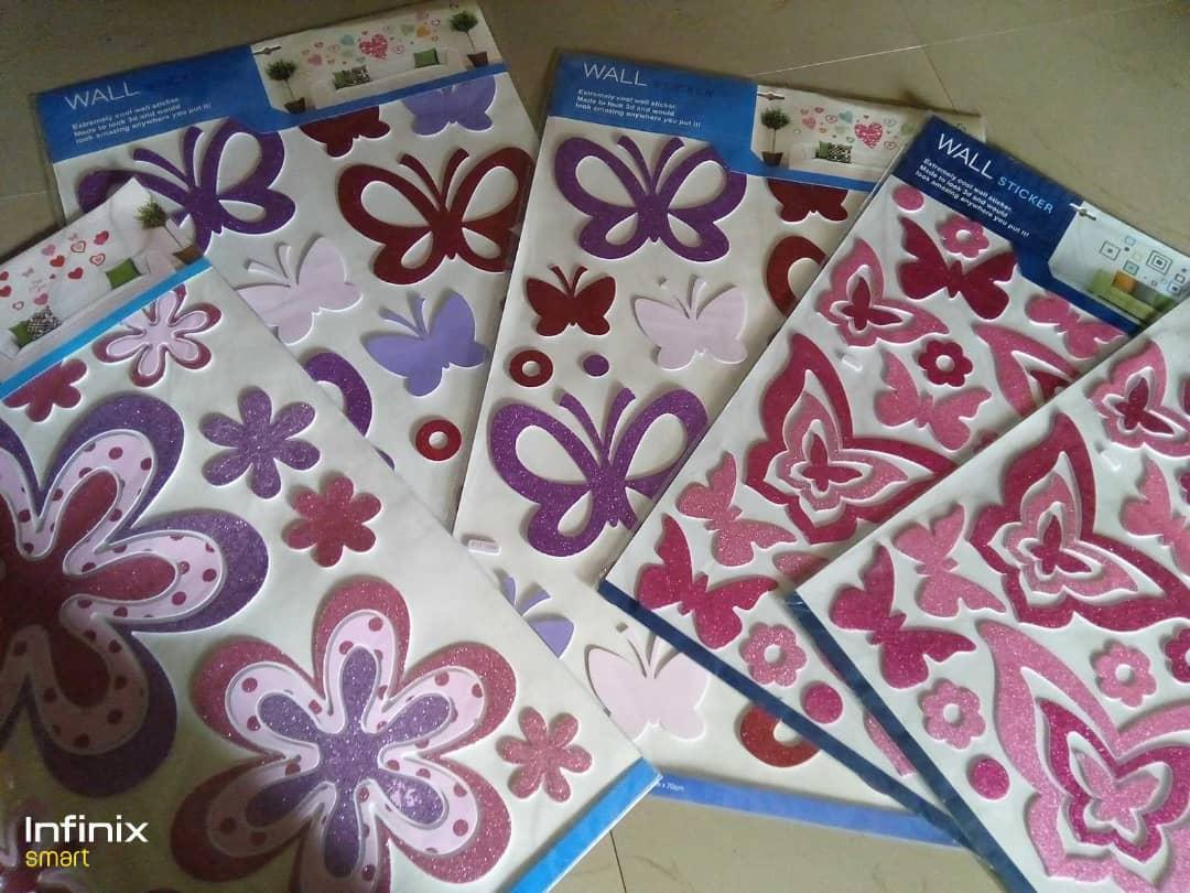 Butterfly wall stickers - Big size, beautiful butterfly...