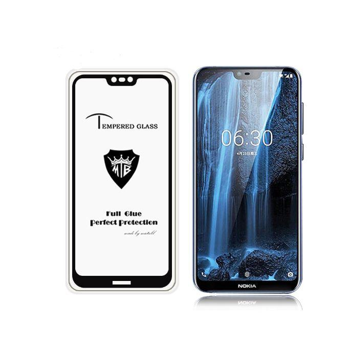 Nokia 6.1 Plus/Nokia X6 2018 Screen Protector,9H Hardness Tempered Glass :- high quality