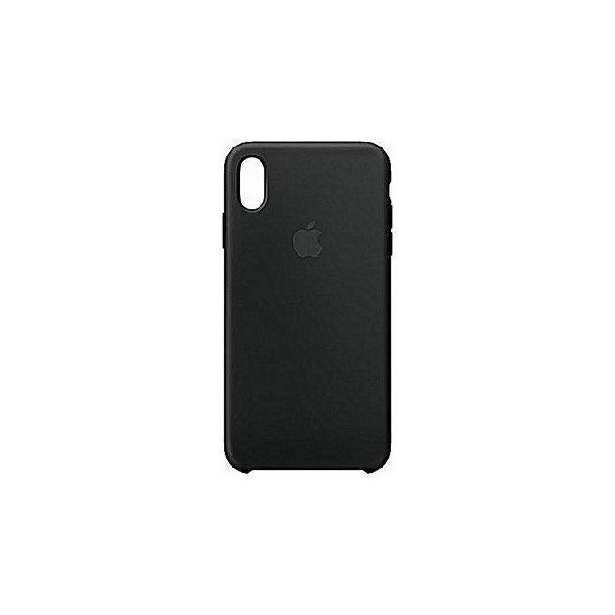Iphone XS Max Pouch Back Case - color: black
