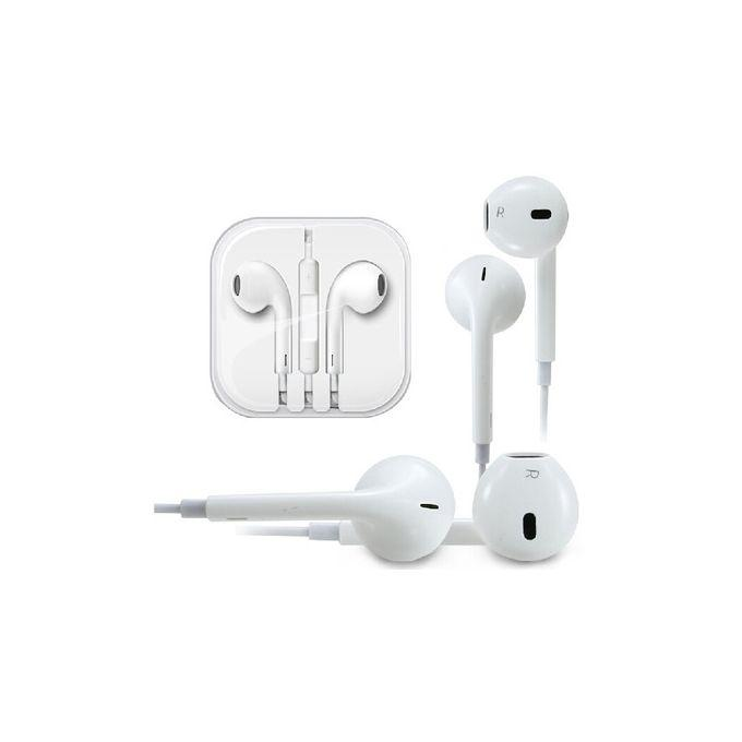 Iphone 6/6s Earpiece With Volume Control- Color: white, Quality earpiece