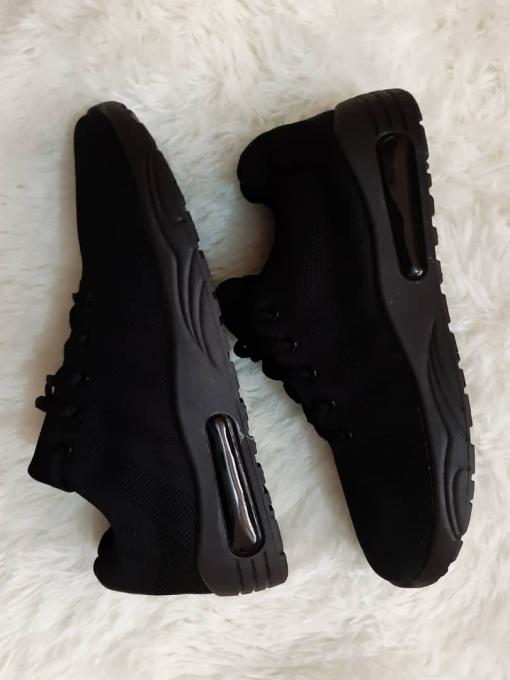 Smart Black sneakers :- color: Black , Type: Sneakers