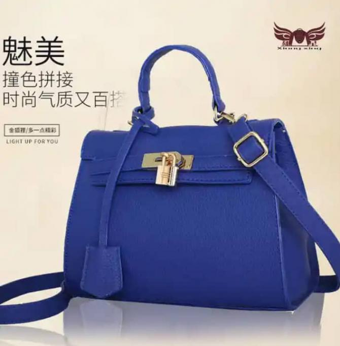 Ideal blue Handbag (Female) - Color: Blue