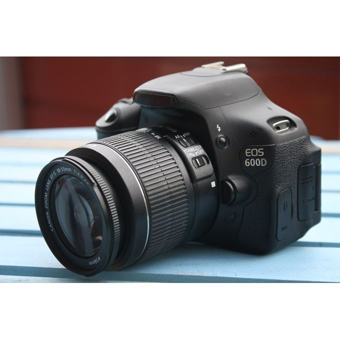 Canon EOS 600D Camera With 18 To 55mm Lens :-