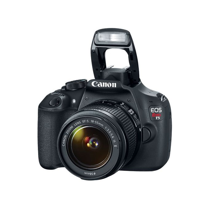 Canon EOS Rebel T5 DSLR/1200D Camera With 18-55mm Lens -