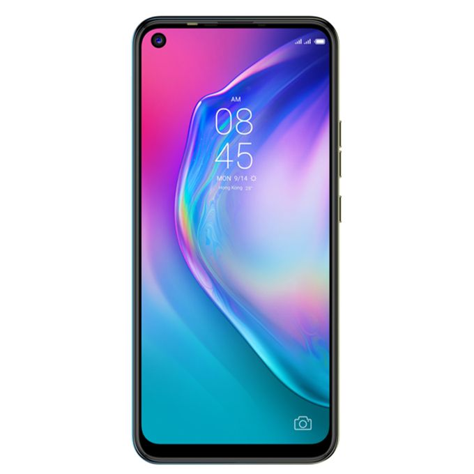 "Tecno CAMON 15(CD7)-6.6"" HD+ DISPLAY-64GB ROM/4GB RAM-48MP/16MP CAMERA-ANDROID Q-4G LTE-5000MAH-SHOAL GOLD -"