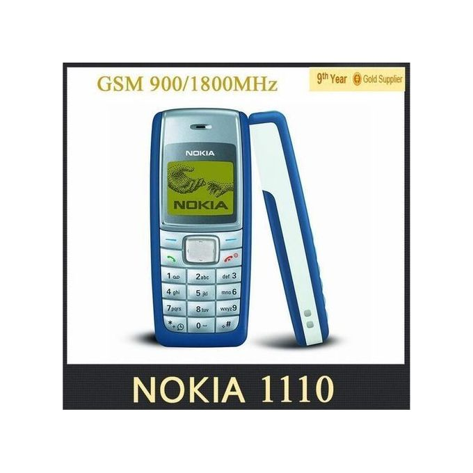 Nokia 1110i 1100 Cheap Cell Phone GSM 900/1800 :- Display Size: 1.8 InchesTalkti...
