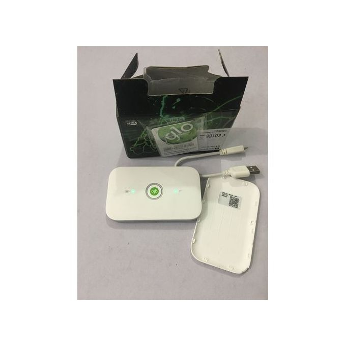 Huawei 4G LTE GLO Mobile Pocket WiFi With Free GiG Data Sim Card :-