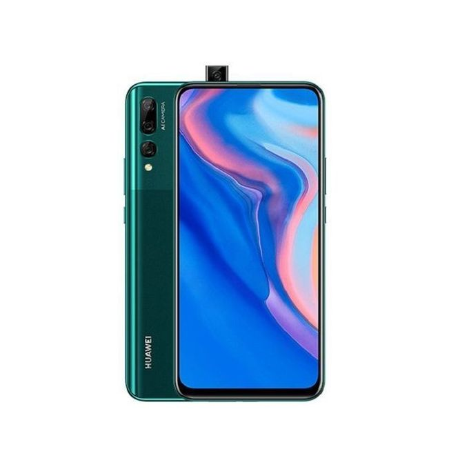 Huawei Y9 Prime 2019 6.59-Inch (4GB, 64GB ROM) Android 9,  16MP Pop-up Selfie Camera, 4000 MAh 4G Smartphone - Emerald Green :-