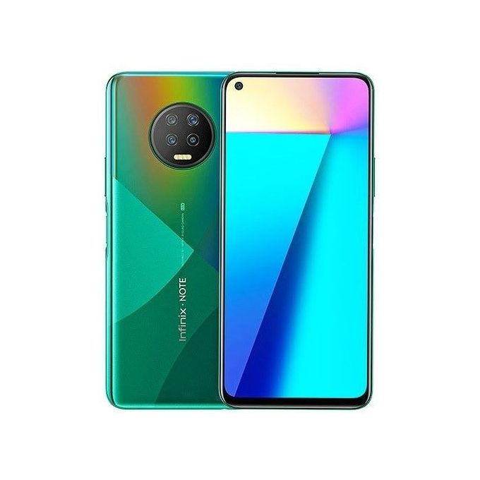 Infinix Note 7 X690B - Dual - 128GB ROM - 6GB RAM - 4G Lte - 6.95'' - 48mp - 5000mAh - Fingerprint - Green -