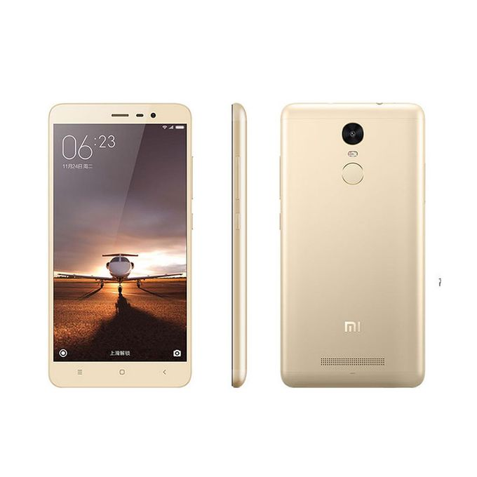 XIAOMI Redmi Note 3 Used 3GB RAM+32GB ROM 4G LTE 90% New Used Smartphone 5.5 Inch Screen Face Detection-Gold -