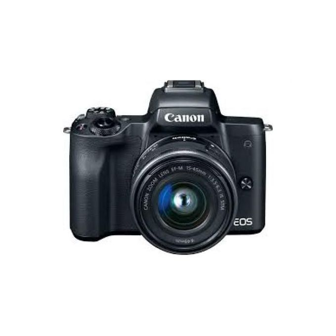 Canon EOS M50 Mirrorless 4k Digital Camera With 15-45mm Lens -