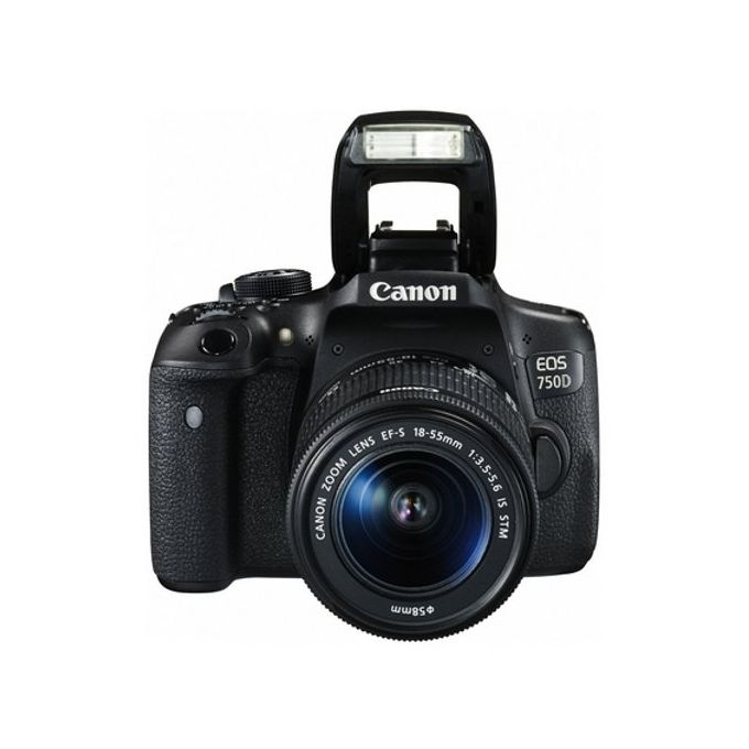 Canon EOS 750D/RebelT6i Digital SLR Camera With 18-55mm  -