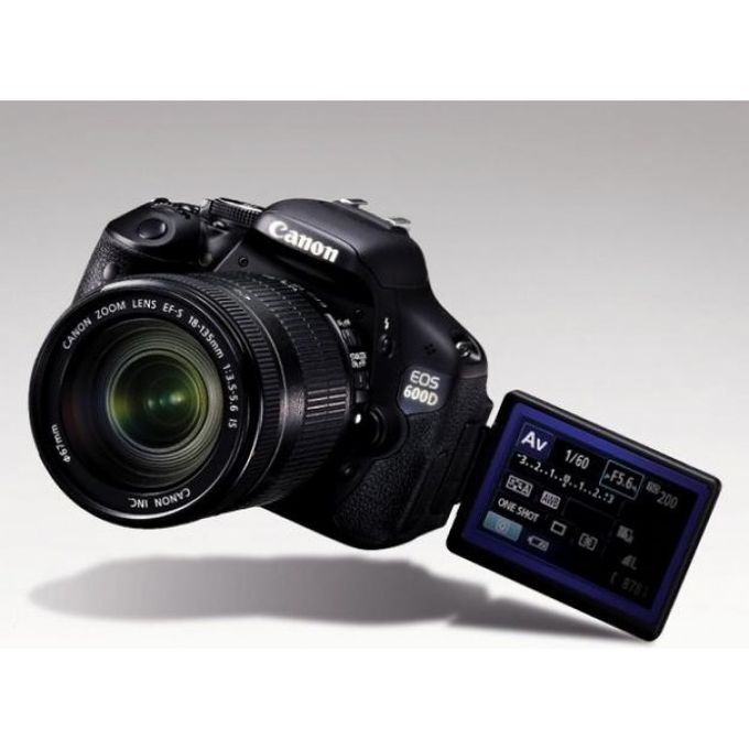 Canon EOS 600D Camera With 18-55mm Lens -