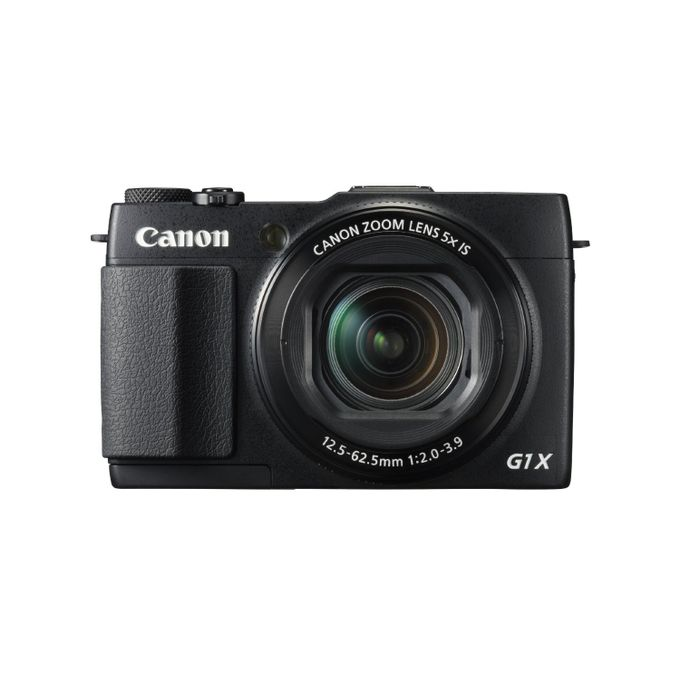 Canon Canon PowerShot G1 X Mark II Digital Camera - Wi-Fi /NFC/ GPS Enabled :- 13.1 megapixel at 4:3 / 12.8 m...