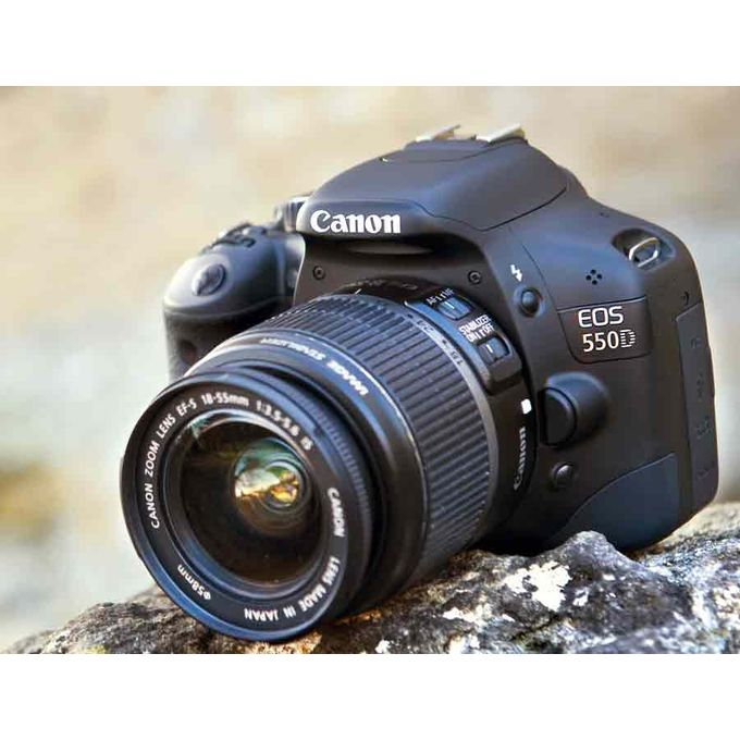 Canon EOS 550D DSLR Camera With 18 To 55mm Lens -