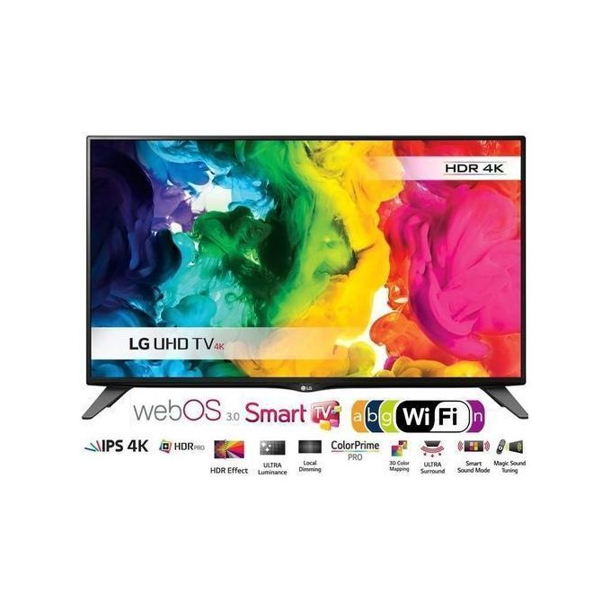 LG 50'' SMART UHD 4K SATELLITE TV+Magic Remote-50UM7340 With 2 Years Warranty 2019 Model -