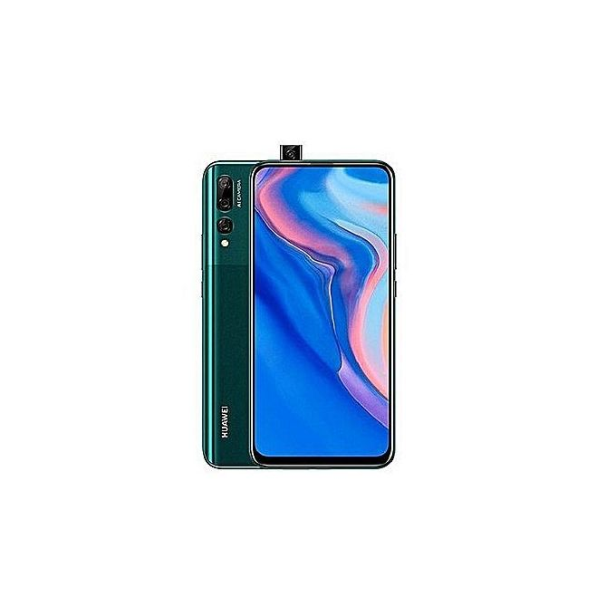 Huawei Y9 Prime 2019 6.59-Inch (4GB, 128GB ROM) Android 9, 16MP Selfie Camera, Dual SIM - Emerald Green :- 6.59-inch, IPS LCD capacitive...