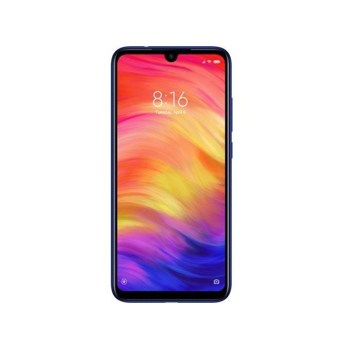 XIAOMI Redmi 7 6.26-Inch HD+ (3GB, 64GB ROM) Android 9.0 (Pie) (12MP + 2MP) + 8MP 4G - Comet Blue -