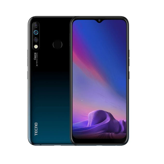 Tecno CAMON 12 CC7 - 4GB RAM 64GB ROM Android 9 Pie...