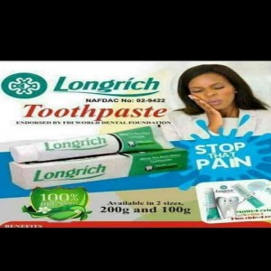 Longrich Toothpaste :- White Tea Multi effect toothpa...
