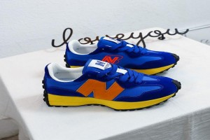 Ladies NB Canvass - Blue/Dark-Blue/Orange/Yellow L...