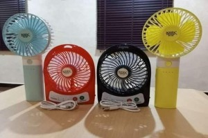 Sonik Japan Rechargeable hand & desk fan- The fan is portable to use and...