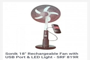 Sonik Japan standing fan - Efficient and durable